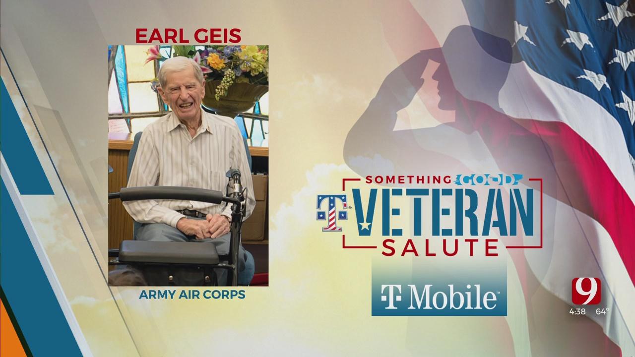 Veteran Salute: Earl Geis