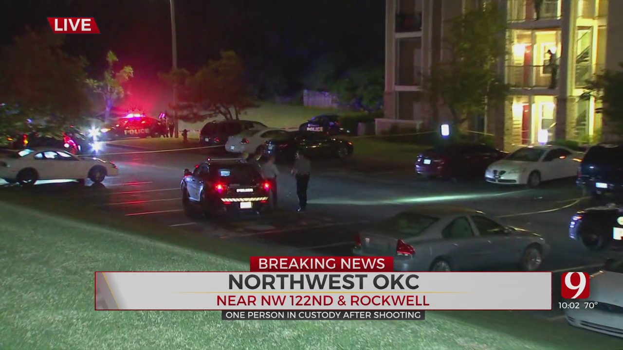 1 Shot At NW OKC Apartment Complex; 1 In Custody