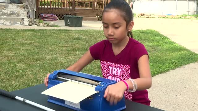 Blind 10-Yr-Old Selected for 2020 Braille Challenge Finals