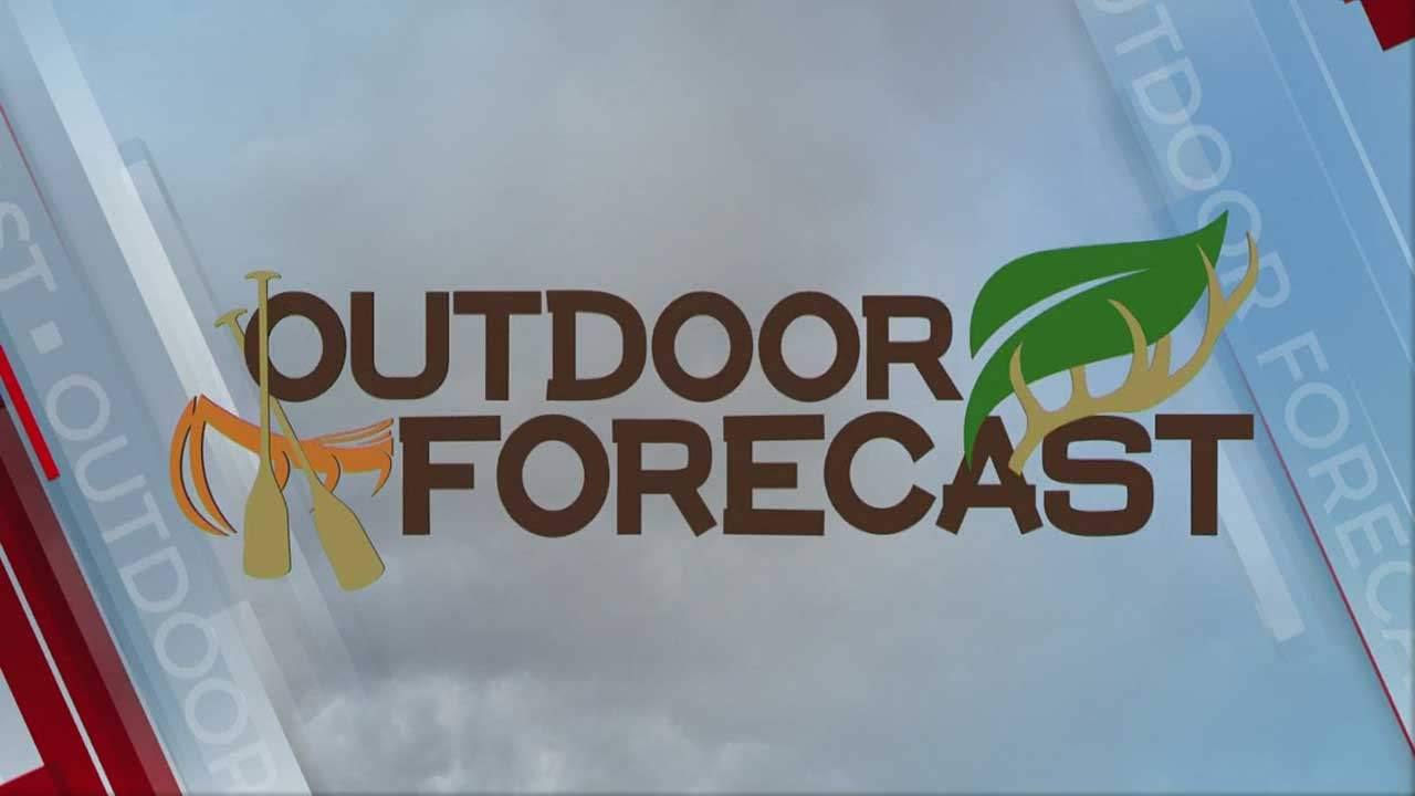 Jed's Monday Outdoor Forecast