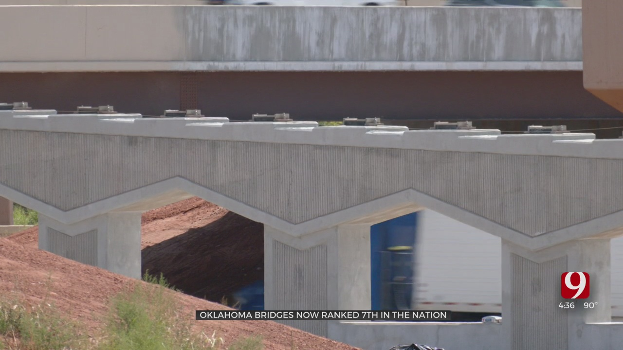 Oklahoma Bridges Now Ranked 7th In Nation, According To The Federal Highway Association