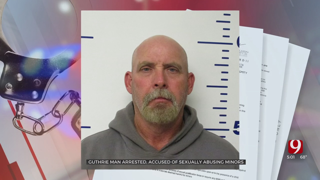 Guthrie Man Arrested, Accused Of Sexually Abusing 2 Teens