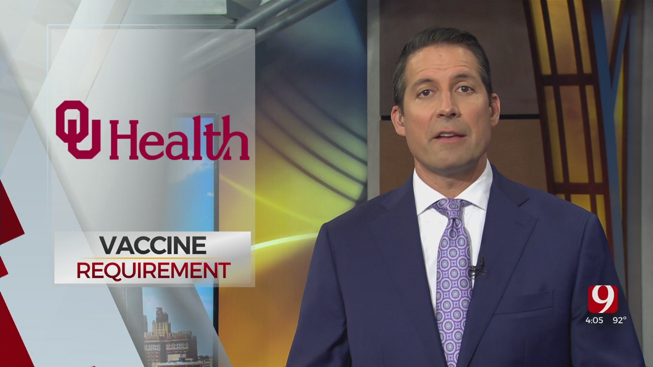 OU Health Announces COVID-19 Vaccine Requirement For Employees