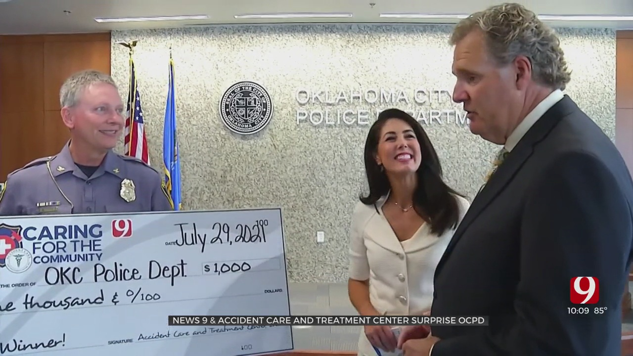 Caring For The Community: News 9 & Accident Care And Treatment Center Surprise OCPD