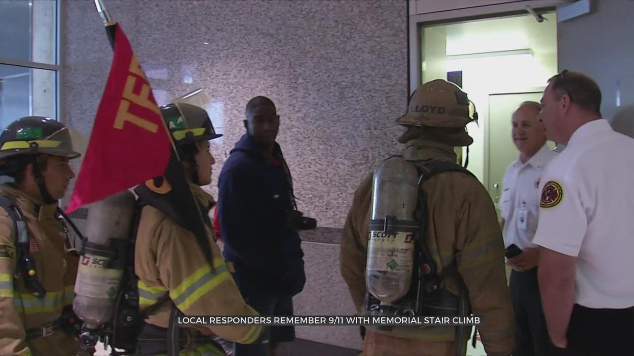 Local Responders Remember 9/11 With Memorial Stair Climb