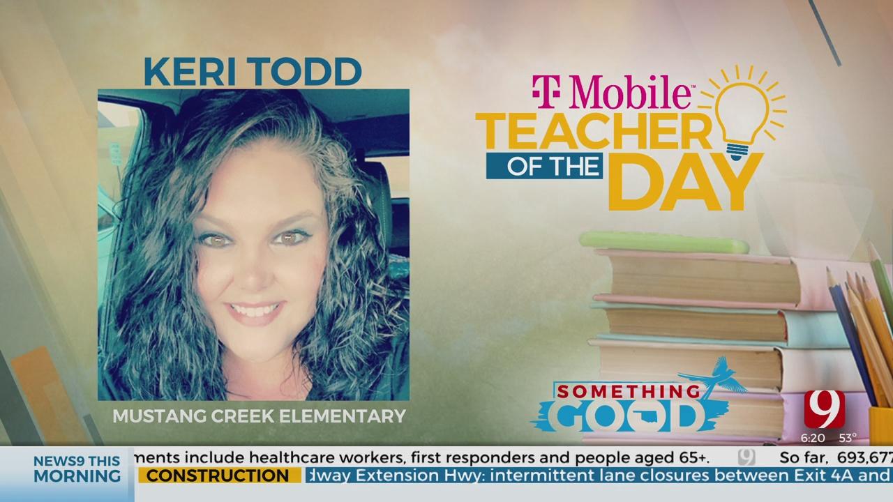 Teacher Of The Day: Keri Todd