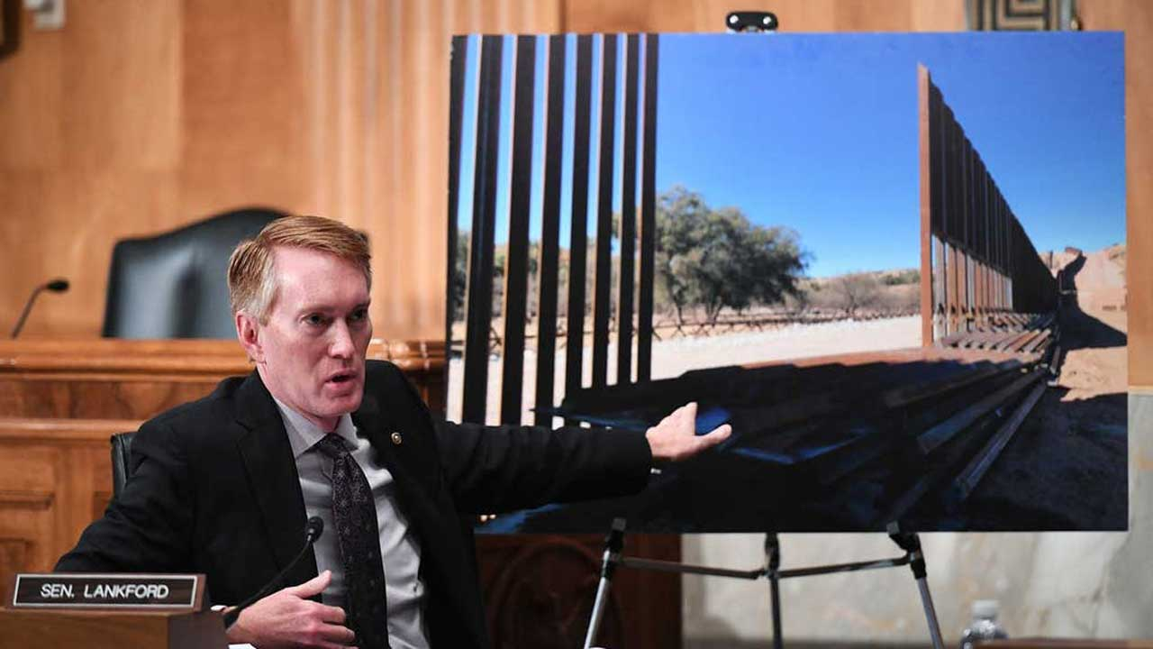 Sen. Lankford Urges Biden Administration To Complete Wall Construction Along The Southwest Border