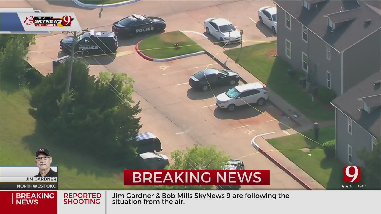 2 People Shot At NW OKC Apartment Complex, Police Say