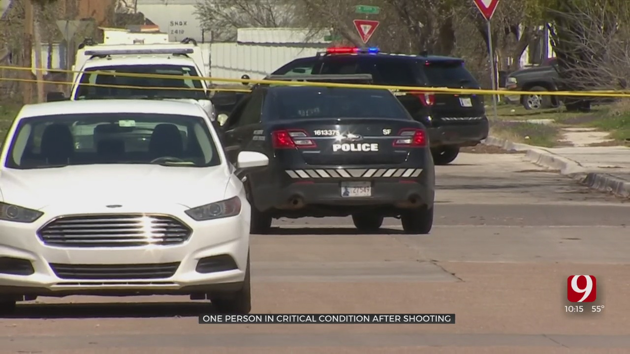 1 Person In Critical Condition Following Southwest OKC Shooting