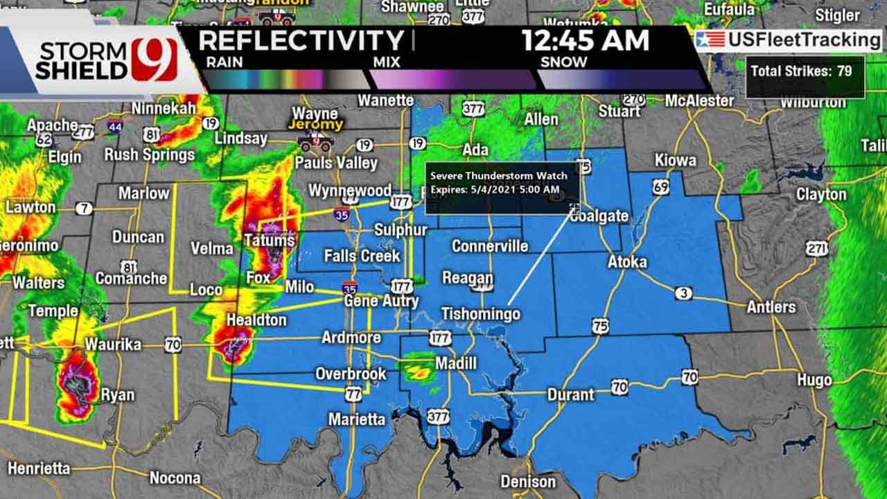 News 9 Weather Team Tracks Severe Storms Overnight