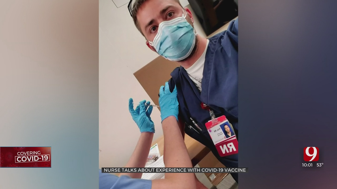 Nurse Speaks Out After Being First Among State To Receive A COVID-19 Vaccine Shot