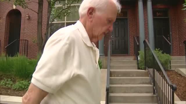 99-Year-Old World War II Veteran Walks For Healthcare Workers
