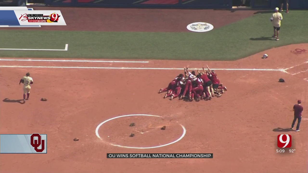 OU Sooners Win Their 5th National Championship In Softball