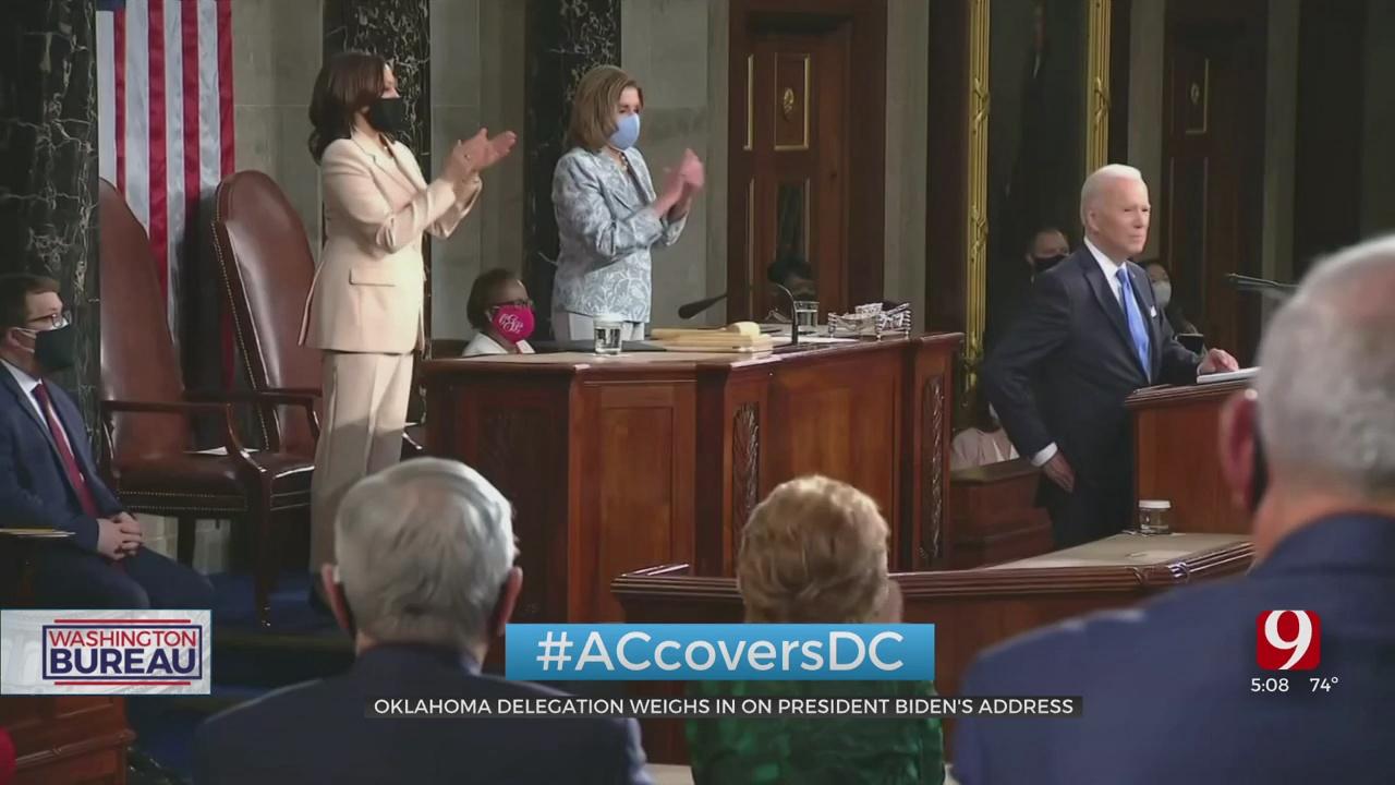 Oklahoma Delegation Voice Concerns Following President Biden's Address To Congress