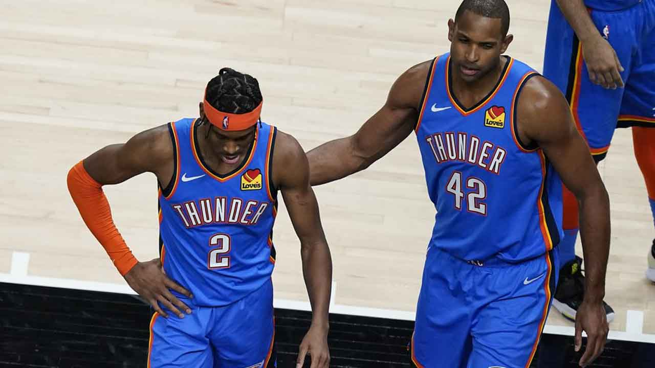 Jerome Shines; Thunder Drop 2nd Straight Road Game