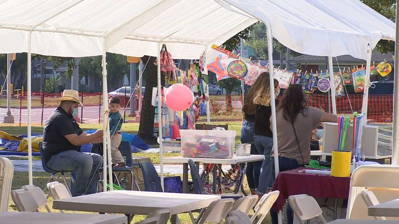Saint Patrick Catholic Church's Fall Carnival Is Back After Taking A Break Due To The Pandemic