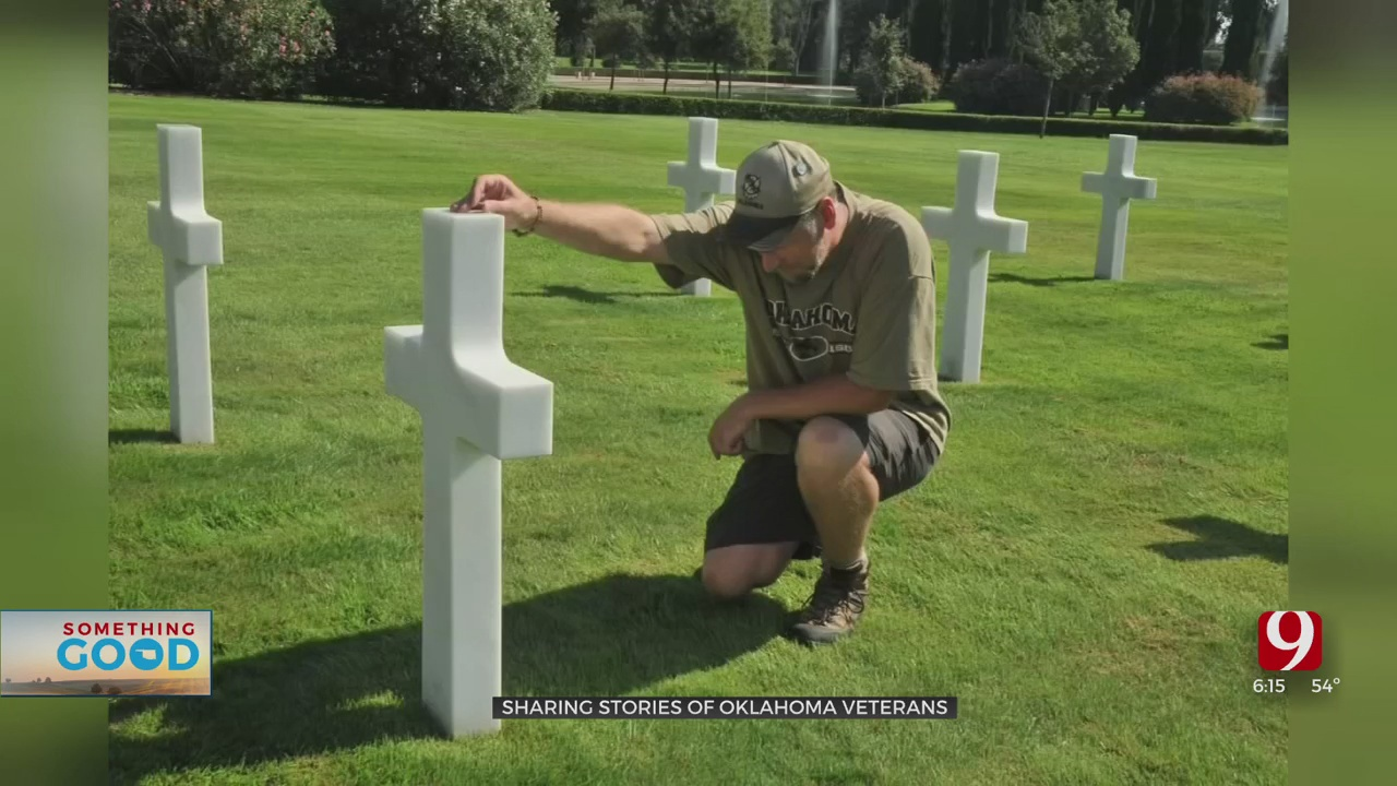 Oklahoma Man's Mission To Honor WWI & WWII Vets Continues