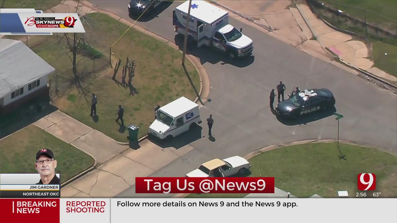 Police Investigate A Shooting In NE OKC