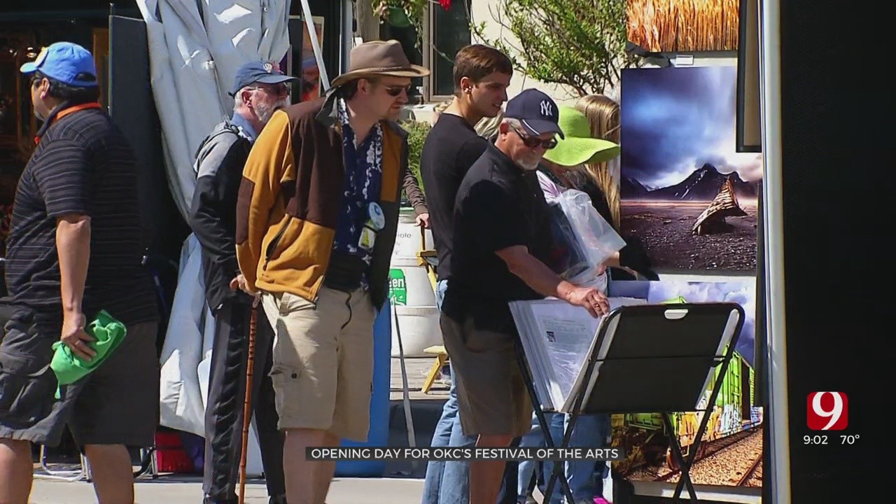 Festival Of The Arts Opens In Downtown OKC