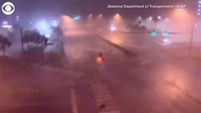 WATCH: Hurricane Sally Hits Coastal Alabama