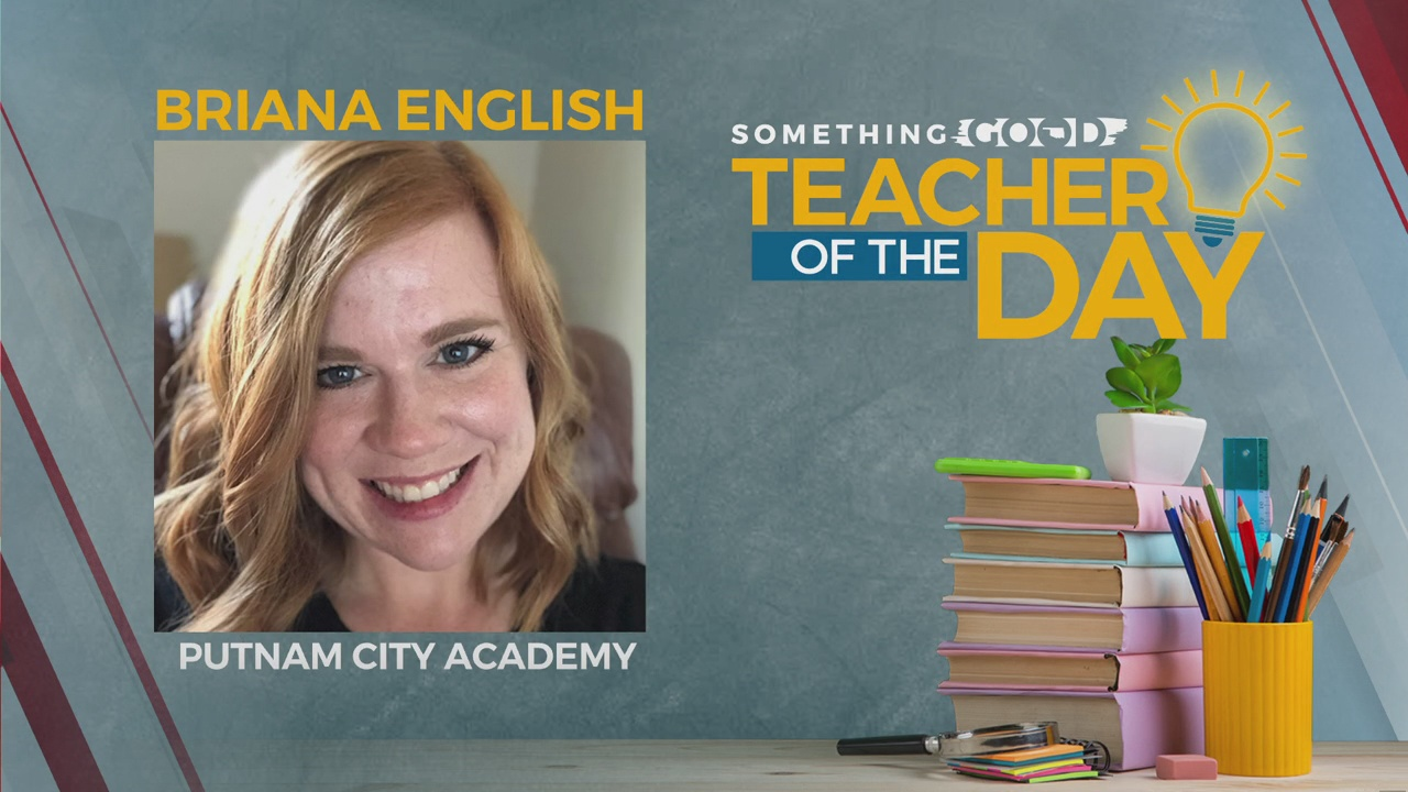 Teacher Of The Day: Briana English