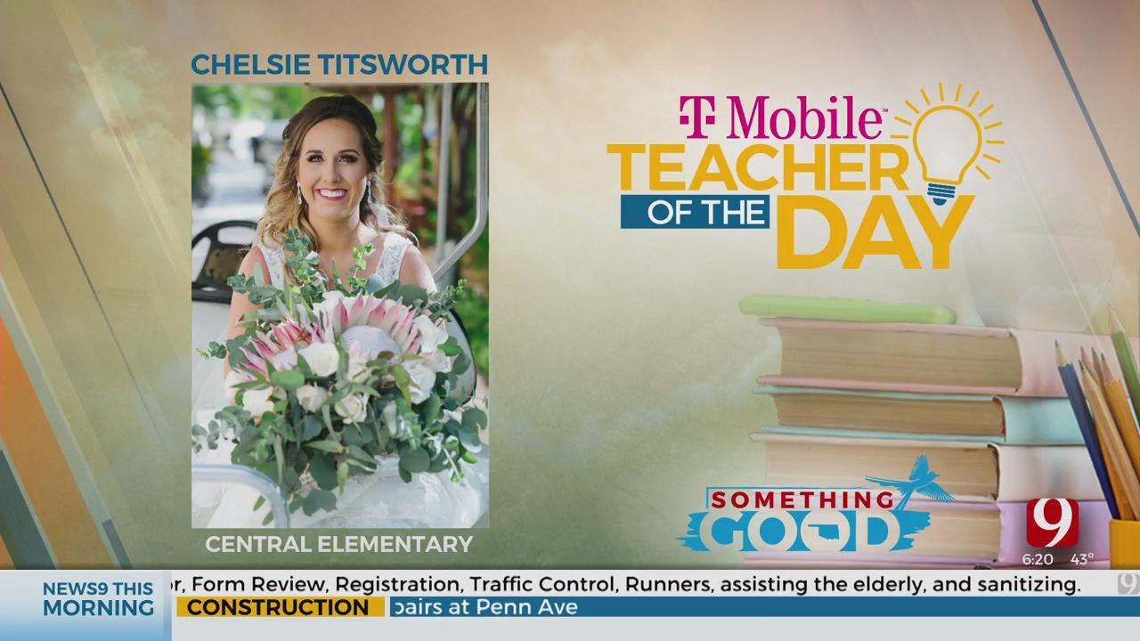 Teacher Of The Day: Chelsie Titsworth