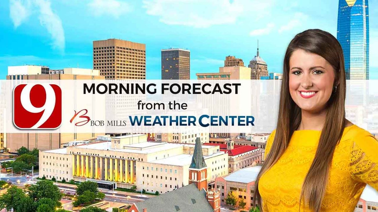 Lacey's Friday 9 A.M. Forecast