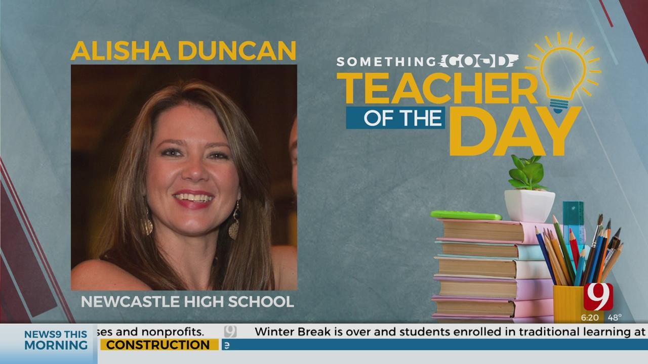 Teacher Of The Day: Alisha Duncan