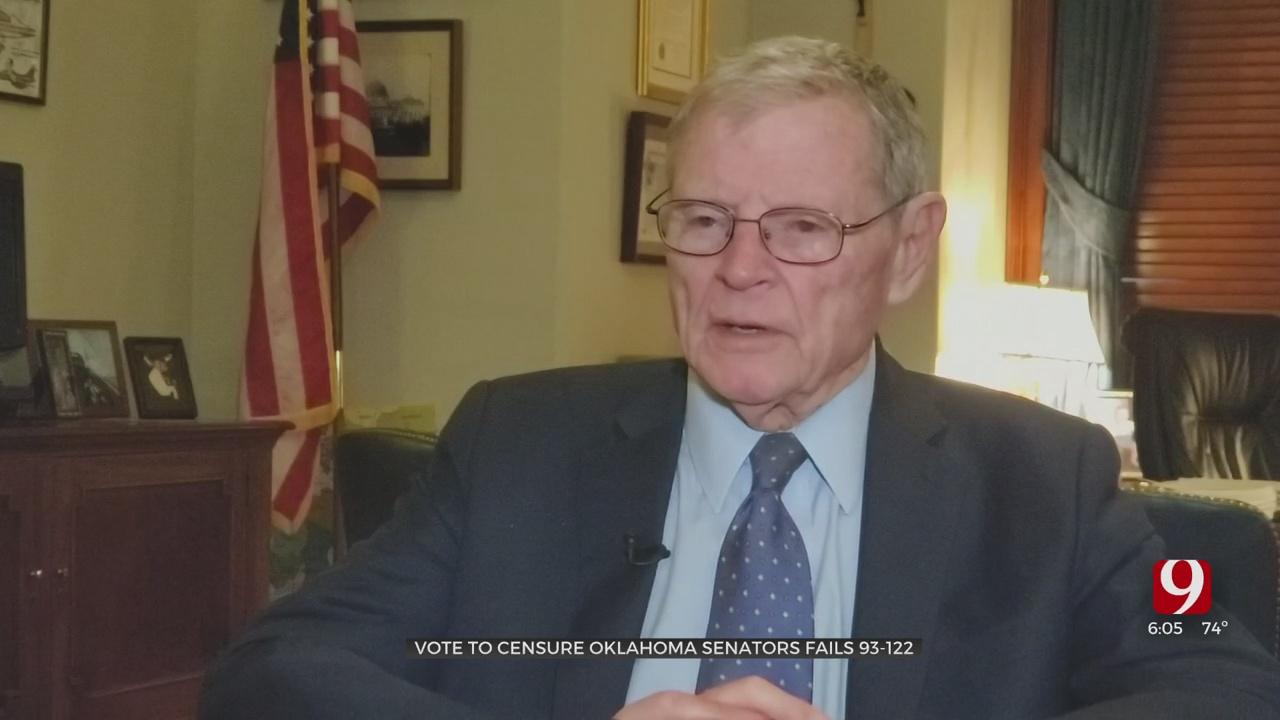 Oklahoma GOP Vote On Censuring Lankford, Inhofe Fails 122 To 93