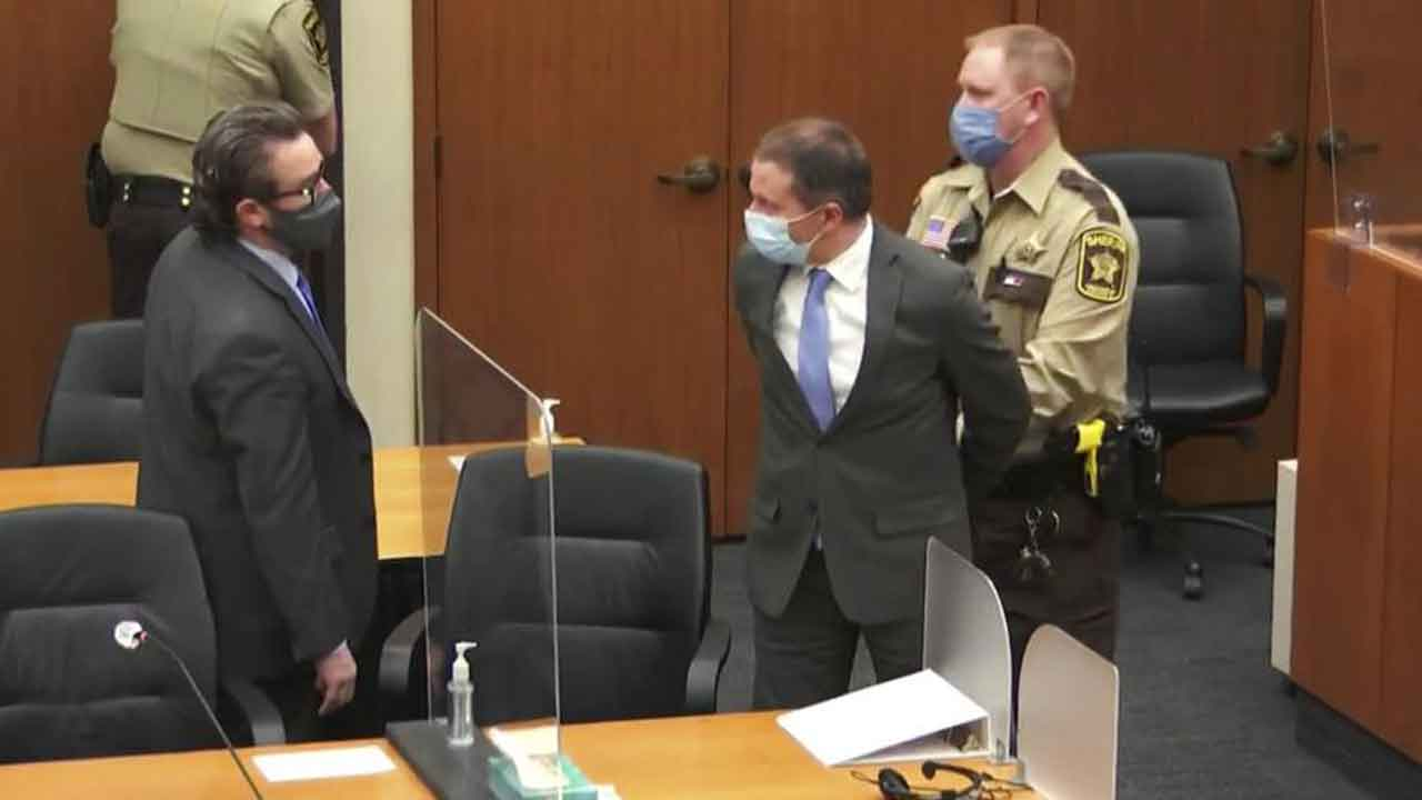 Ex-Cop Derek Chauvin Guilty Of Murder, Manslaughter In George Floyd Case