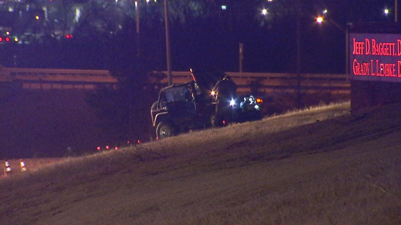 OHP: One Person Killed In Rollover Crash Near Edmond