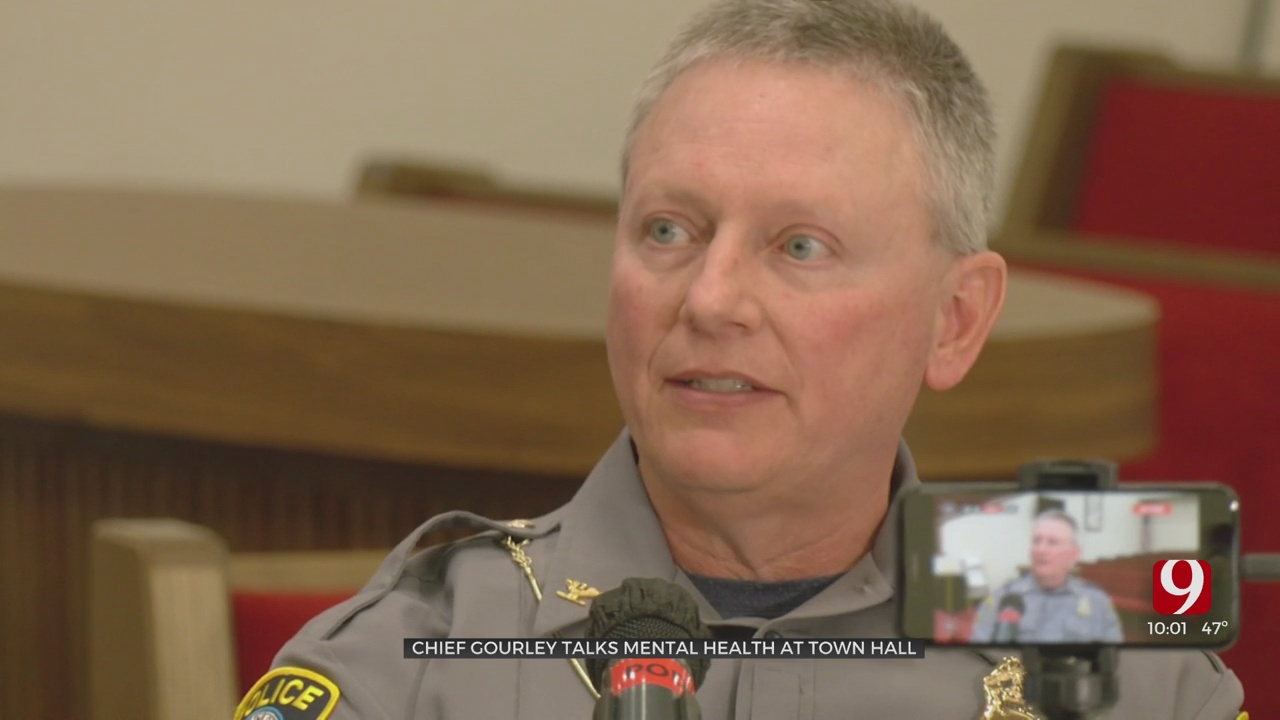 OKC Police Chief Talks Mental Health At Town Hall After Officer Is Charged In Deadly Shooting