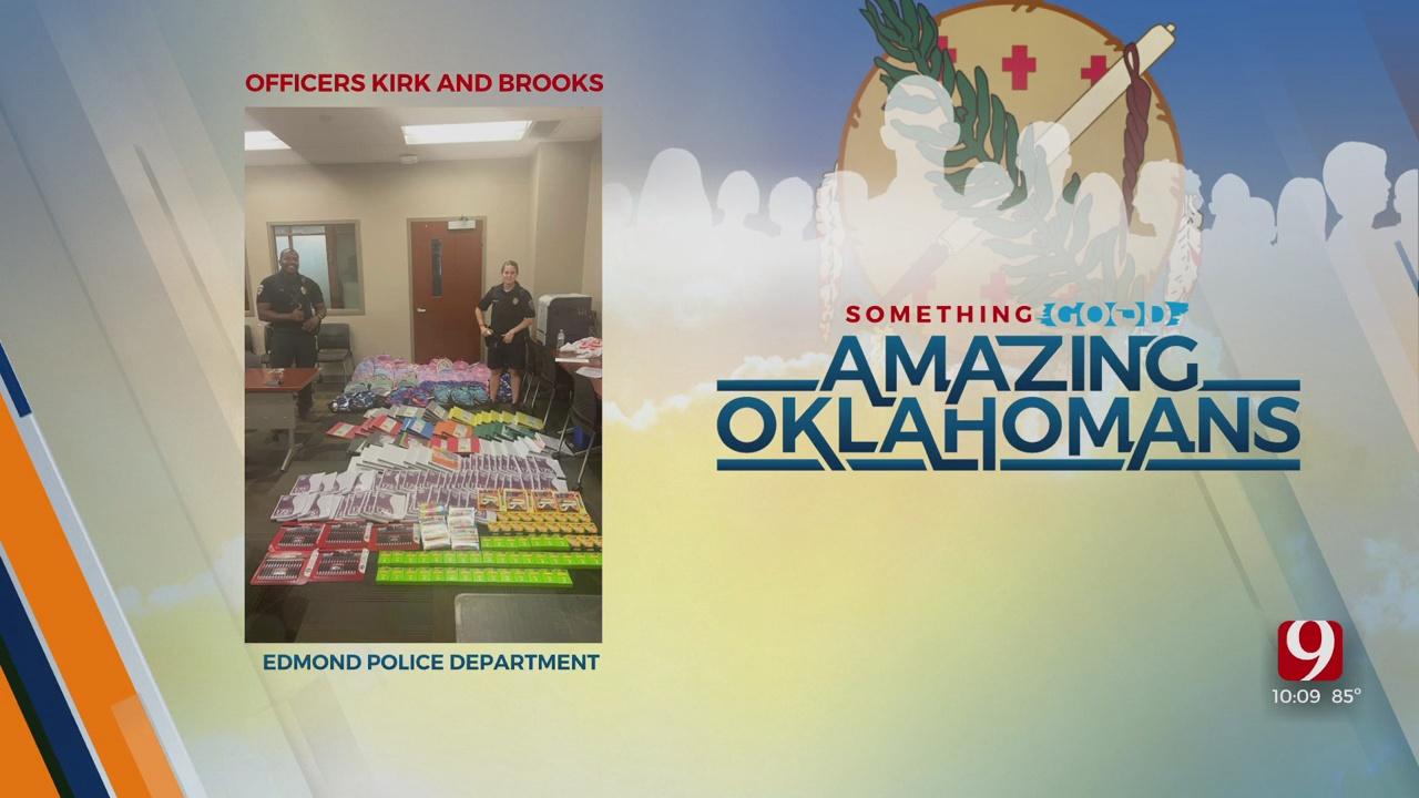 Amazing Oklahoman: Officer Kirk & Officer Brooks