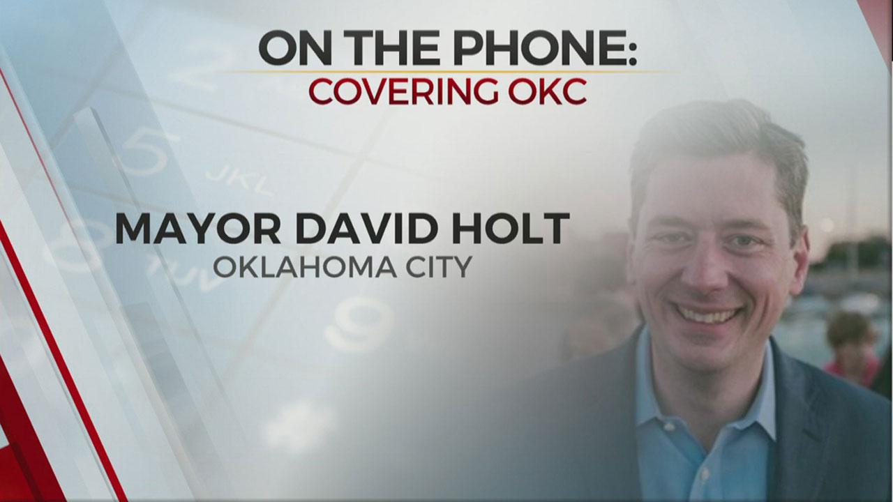 Watch: OKC Mayor Holt On Ice Storm Debris Pickup, Scissortail Expansion