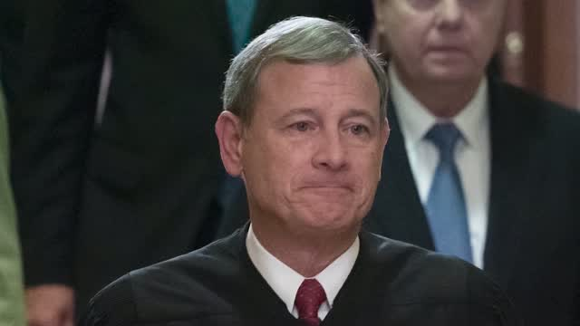 Chief Justice John Roberts Hospitalized In June After Injuring His Head In Fall
