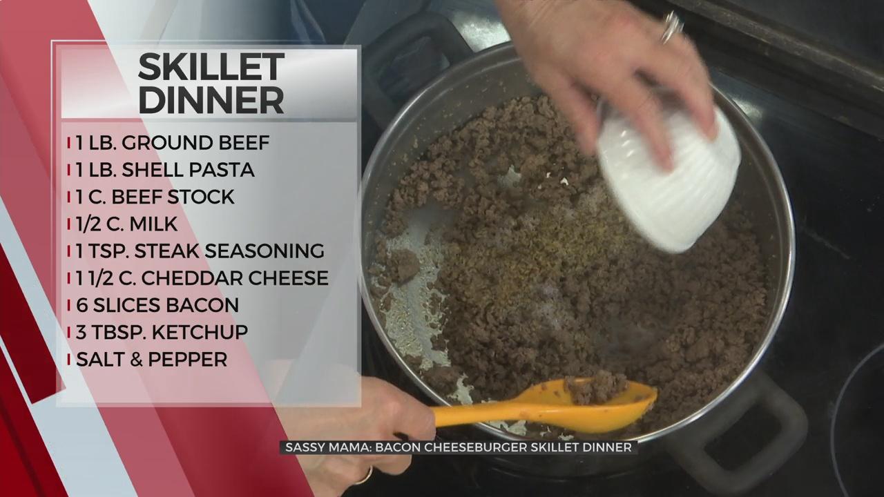 Sassy Mama: Bacon Cheeseburger Skillet Dinner