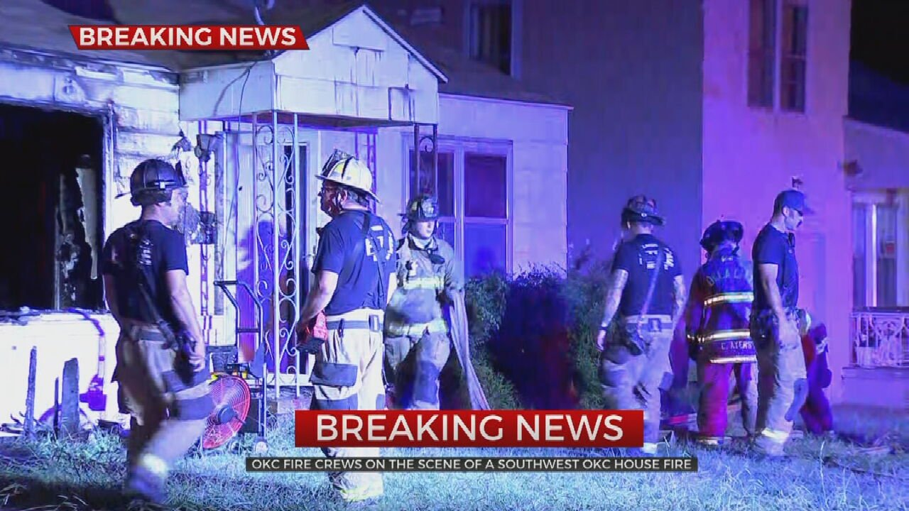 Fire Crews Battle Vacant House Fire In SW OKC