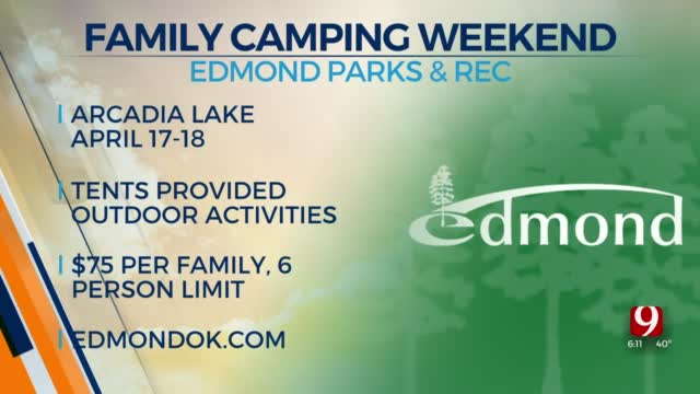 Edmond Parks & Recreation Hosts Family Camping Weekend