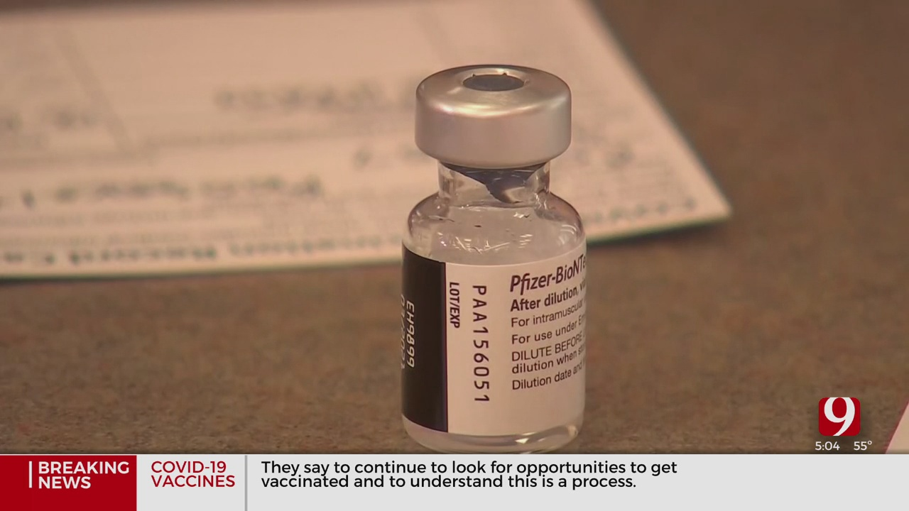 Officials Expects To See More COVID-19 Vaccine Doses In Oklahoma Soon