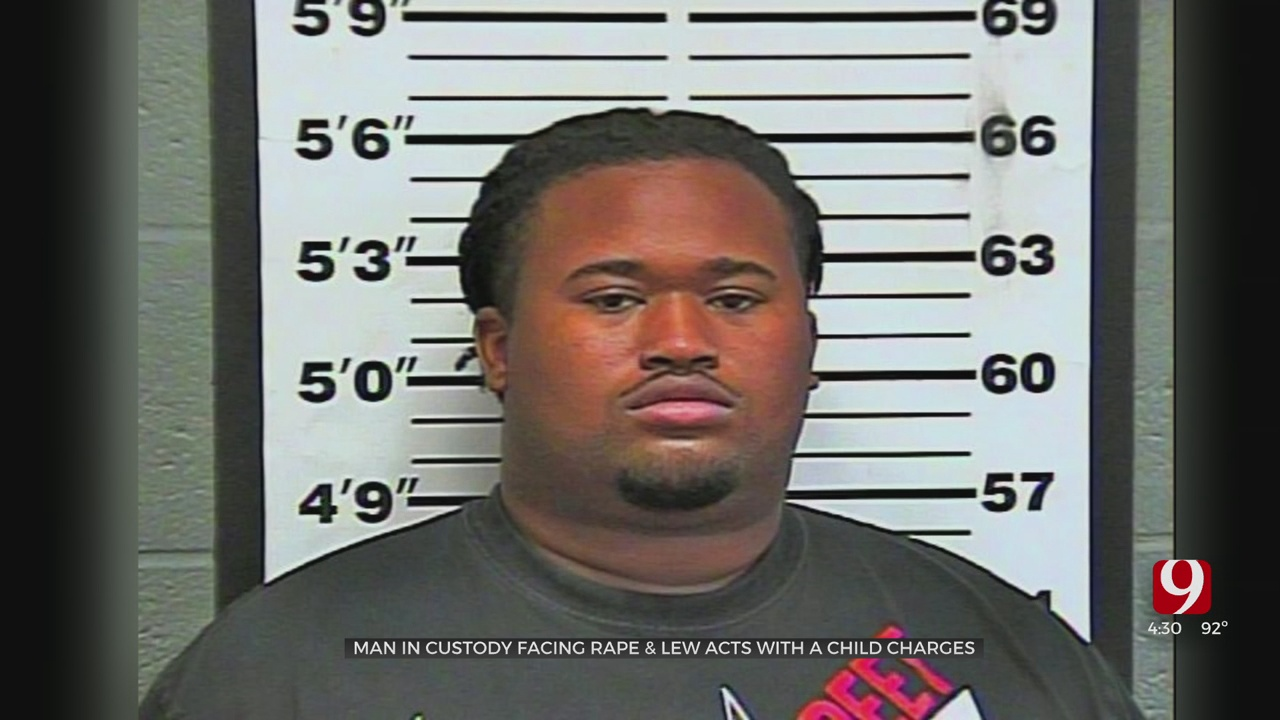 Oklahoma County Man Charged With 1 Count Of Rape, 41 Counts Of Lewd Acts