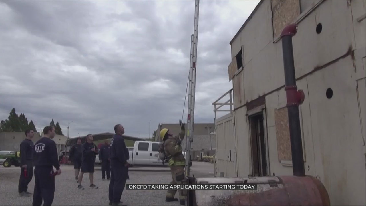Oklahoma City Fire Department Looking For Potential Firefighter