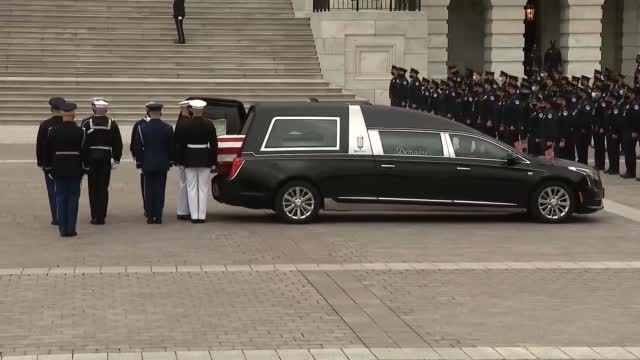 Fallen Capitol Police Officer William 'Billy' Evans Honored As A 'Hero'