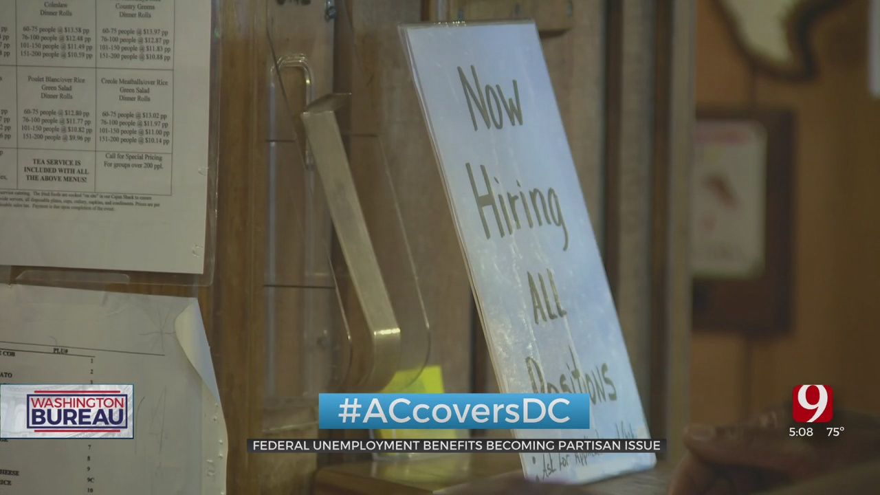 Oklahoma Among 23 States Ending Federal Unemployment Benefits Early