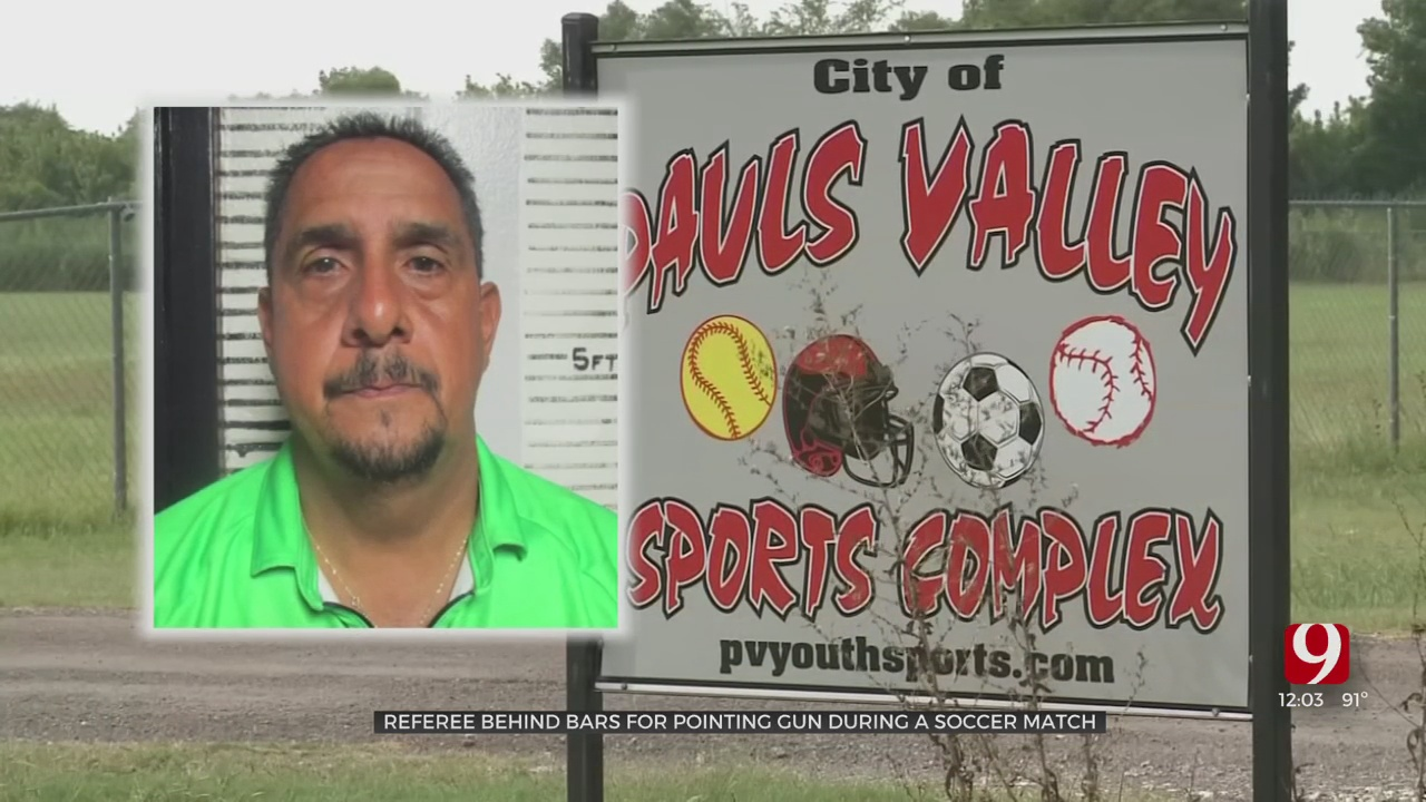Soccer Referee Accused Of Firing Gun Towards Crowd In Pauls Valley