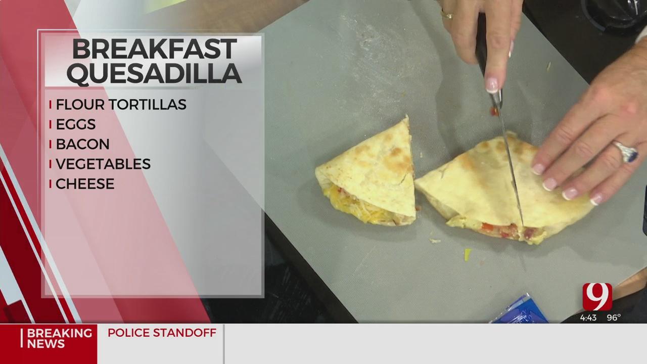 Sassy Mama: Breakfast Quesadilla
