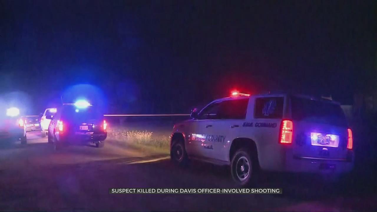 OSBI Investigating Deadly Police Shooting In Davis