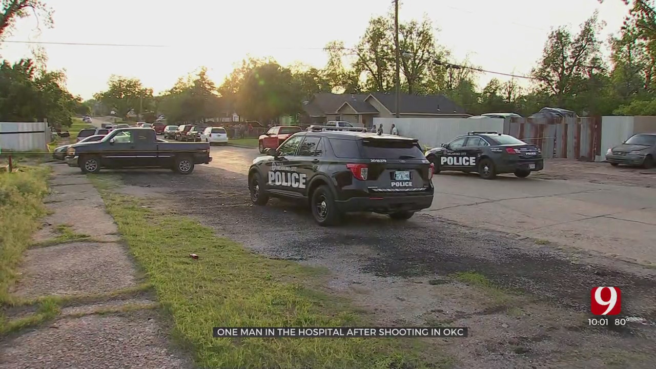 Police Looking For Suspect Connected To SE OKC Shooting