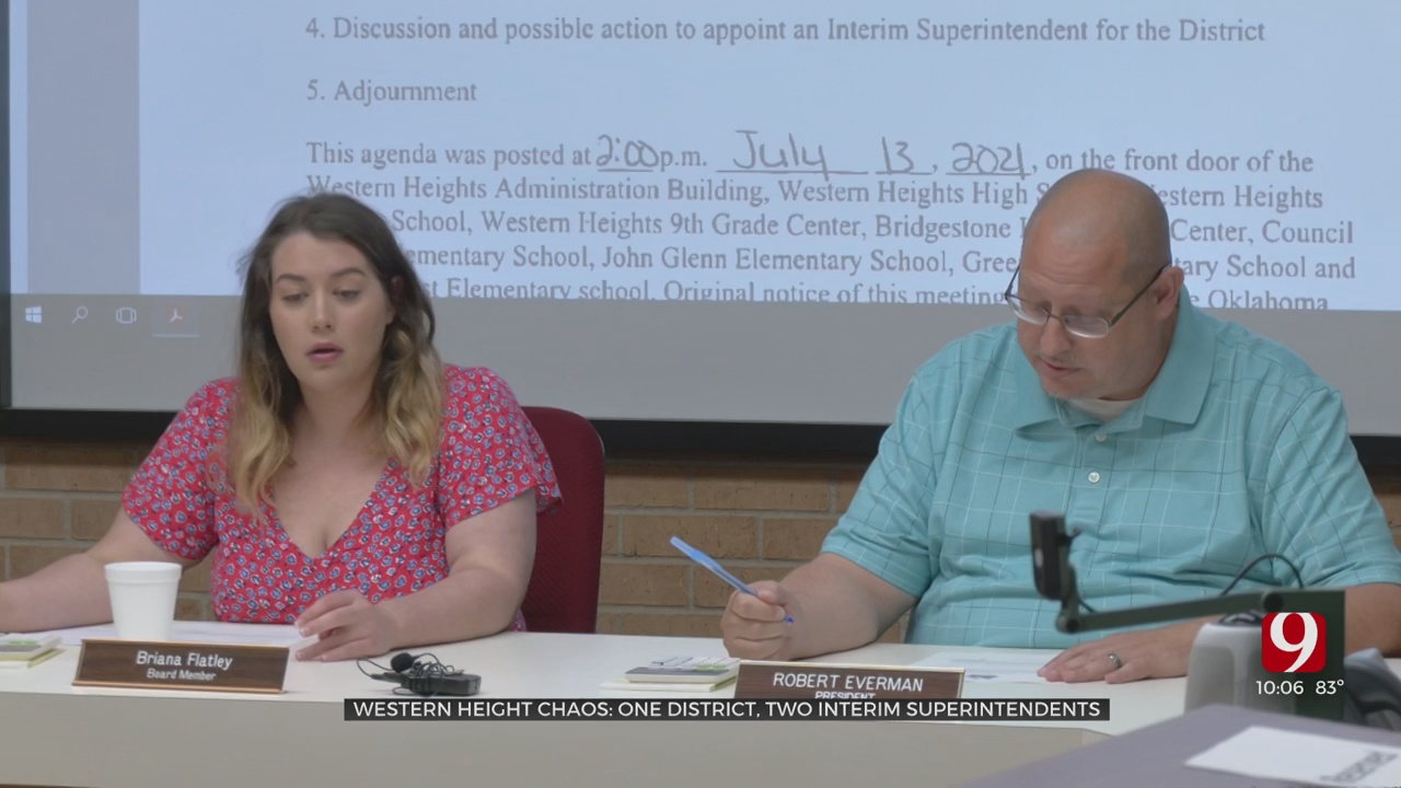 Western Heights Public Schools Rejects State Takeover, Names Its Own Interim Superintendent