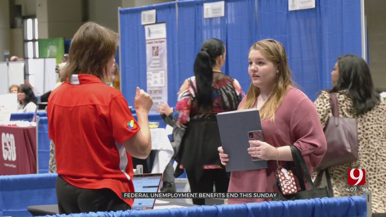 OESC Holds Job Fair In OKC As Federal Unemployment Benefits End Sunday