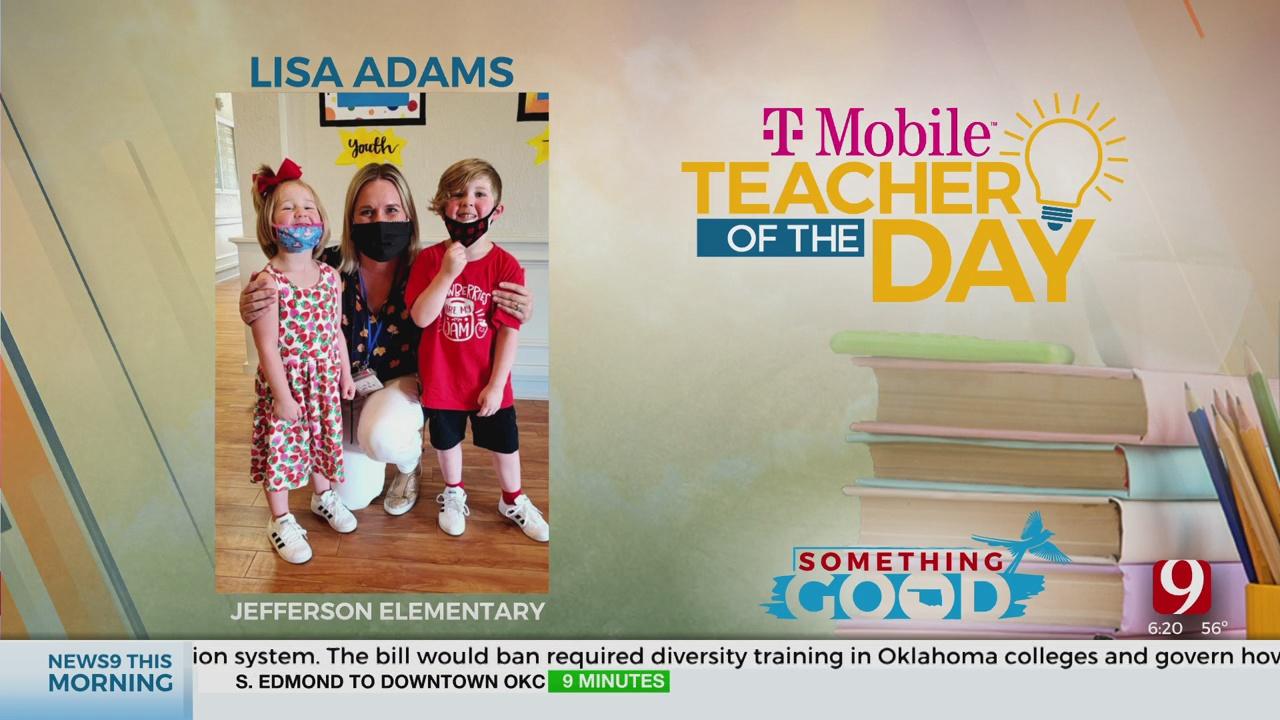 Teacher Of The Day: Lisa Adams